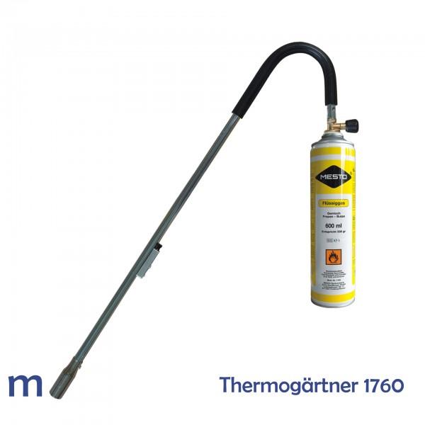 MESTO Flammgerät Thermo-Gärtner, Abbildung mit Dose