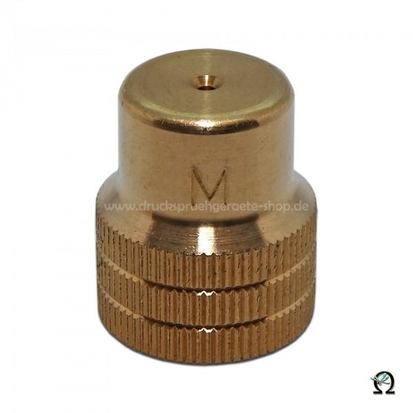 MESTO Messing-Hohlkegeldüse 1,1 mm ohne Dralleinsatz