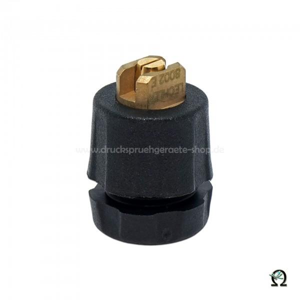 Flachstrahldüse 1422F Messing/Kunststoff 80-02E mit Feinfilter