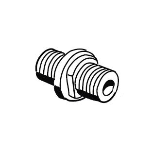 MESTO Schlauchanschluss NBR 1338A AG M18 × 1,5mm