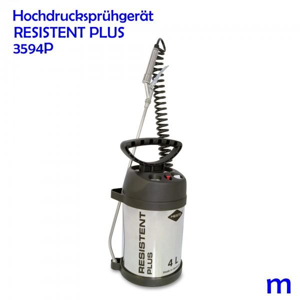 MESTO Edelstahl-Hochdrucksprühgerät RESISTENT PLUS - 4 Ltr.