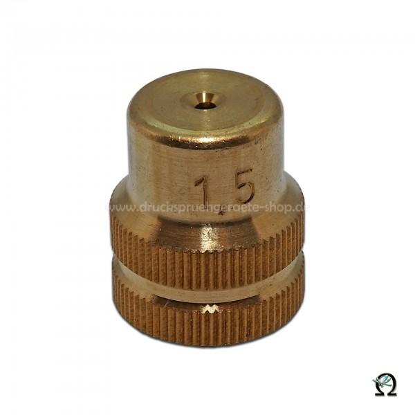 Mesto Messing-Hohlkegeldüse 1,5 mm ohne Dralleinsatz