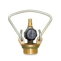 MESTO Messing-Druckluft-Füllventil 6211B für FERRUM, RESISTENT - Steckkupplung