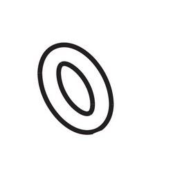 MESTO O-Ring 1207 NBR Ø7,52 × 3,53 mm