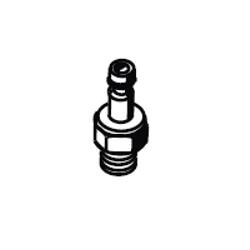 MESTO Stecknippel mit Ventileinsatz und Dichtung 6261