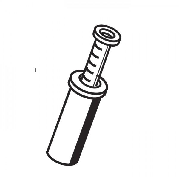 Mesto Kolbenmanometer 6708E mit EPDM-Dichtung 3bar für CLEANER