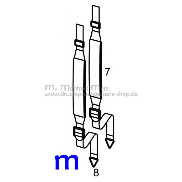 MESTO Trageriemen mit Polster 6123 für FERRUM / RESISTENT