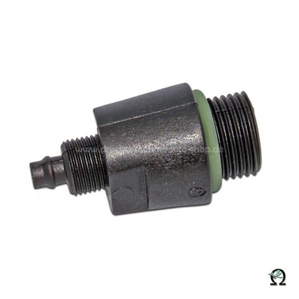 Schlauchanschluss 1162S für MESTO Abstellventile mit Spiralschlauch