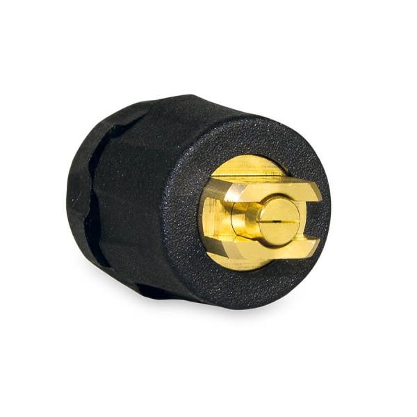 Flachstrahldüse 2329 Messing/Kunststoff 80-01E, 80° mit Filter und Dichtung