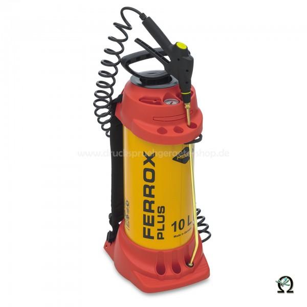 MESTO Hochdrucksprühgerät FERROX PLUS m. zusätzlichem Füllventil - 10 Ltr.