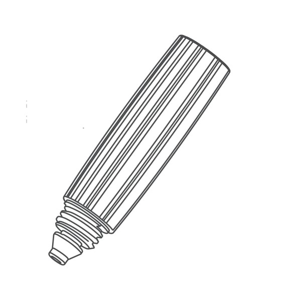 MESTO Handgriff 1376LM TR20×3 für Schlauch Ø10mm