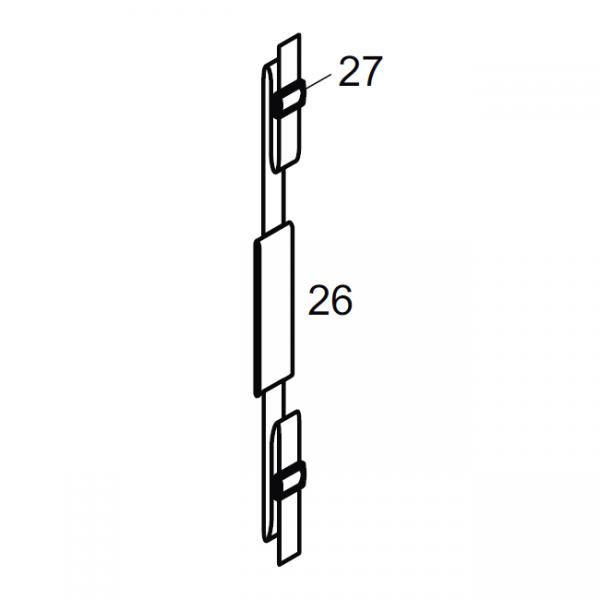 MESTO Trageriemen 6124 für Hochdrucksprühgeräte 4 und 5 Liter