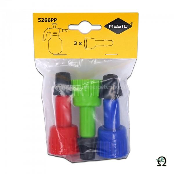 MESTO Spritzrohre 3er-Set (grün, blau, rot) 5266PP