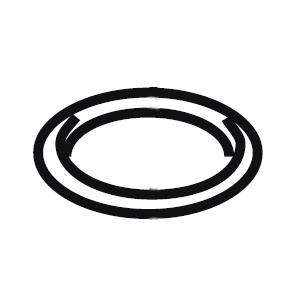 MESTO O-Ring 7201 Ø22 × 2,5 mm