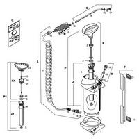 Garten-Drucksprühgerät Mesto PROFI 5 Liter, Ersatzteile